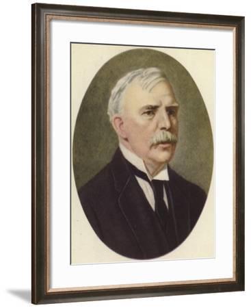 Ernest Rutherford--Framed Giclee Print