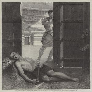 The International Exhibition, A Martyr in the Reign of Diocletian by Ernest Slingeneyer