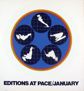 Editions at Pace, 1969 by Ernest Trova