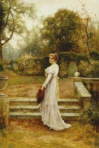 A Stroll in the Garden by Ernest Walbourn