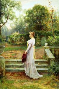 In the Garden by Ernest Walbourn