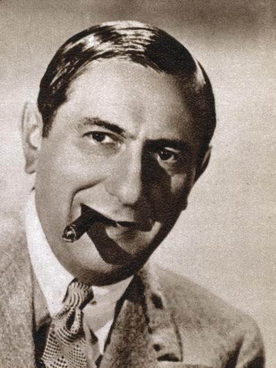 Ernst Lubitsch, German-Born Jewish Film Director, 1933--Giclee Print