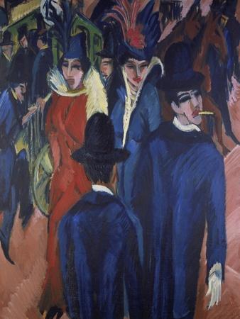 Berlin Street Scene, 1913