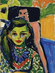 Franzi, 1910 by Ernst Ludwig Kirchner