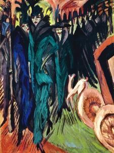 Kirchner: Street Scene by Ernst Ludwig Kirchner