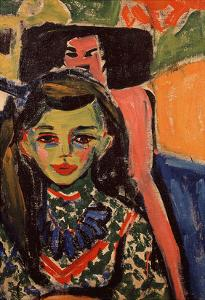 Portrait of Franzi, 1908 by Ernst Ludwig Kirchner