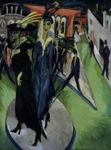 Potsdmer Platz by Ernst Ludwig Kirchner