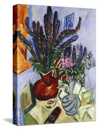 Still Life with a Vase of Flowers; Stilleben Mit Blumenvasen, 1912