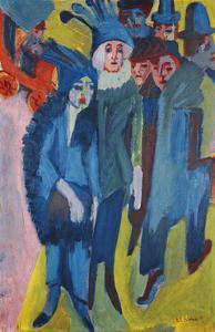Street Scene by Ernst Ludwig Kirchner