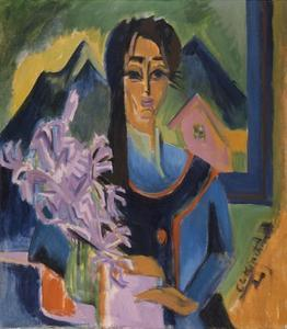 Sunday in the Alps, 1922 by Ernst Ludwig Kirchner