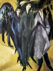 Women in the Street by Ernst Ludwig Kirchner