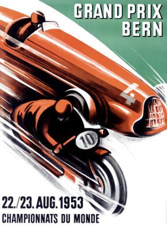 Bern Grand Prix, c.1953 by Ernst Ruprecht