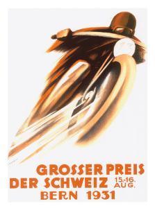 Grosser Preis Der Schweiz, Bern 1931 by Ernst Ruprecht