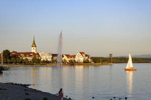 Friedrichshafen, Lake of Constance, Baden-Wurttemberg, Germany by Ernst Wrba