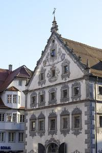 Old Town of Ravensburg, Leather House and Seelhaus, Baden-Wurttemberg, Germany by Ernst Wrba