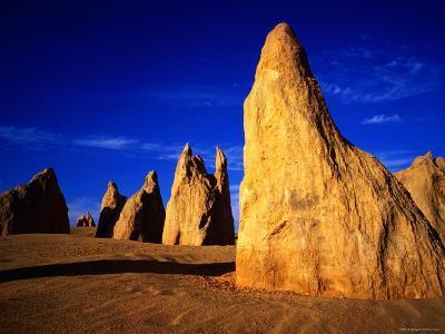 Eroded Rock Formations, Pinnacles Desert, Western Australia-John Banagan-Photographic Print