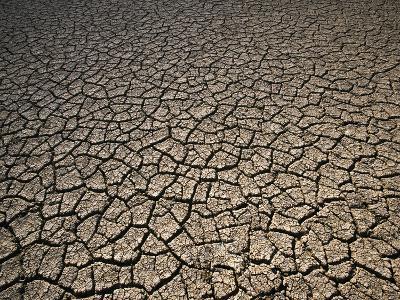 Eroding Ground of Desert-Tim Tadder-Photographic Print