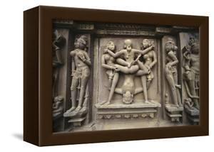Erotic Images on Exterior of Kandariya Mahadeva Temple