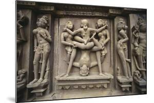 Erotic Images on Exterior of Kandariya Mahadeva Temple