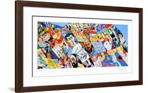 Hommage à Matisse by Erró (Gudmundur Gudmundsson)