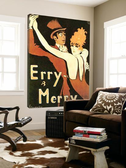 Erry & Merry-Walter Schnackenberg-Loft Art