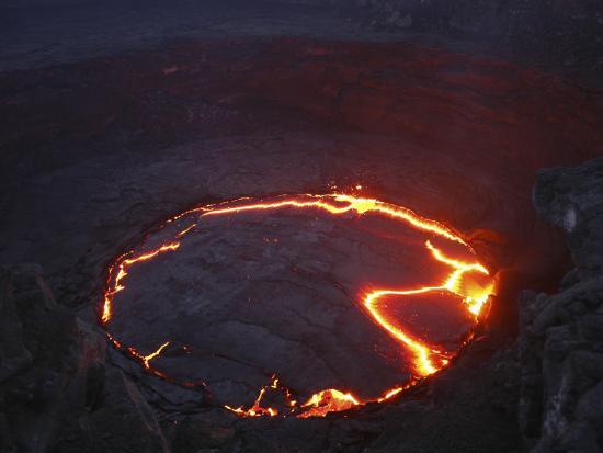 Erta Ale Lava Lake, Danakil Depression, Ethiopia--Photographic Print