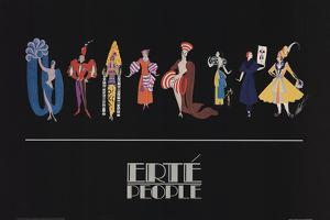 People by Erte