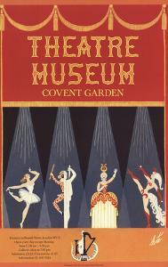 Theatre Museum Covent Garden by Erte