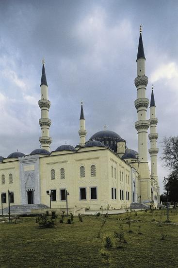 Ertugrul Gazi Mosque, 1997, Ashgabat, Turkmenistan--Photographic Print