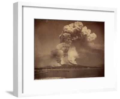 Eruption of Mount Vesuvius, 20th April 1872