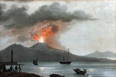 Eruption of Vesuvius, Italy, C1815--Giclee Print