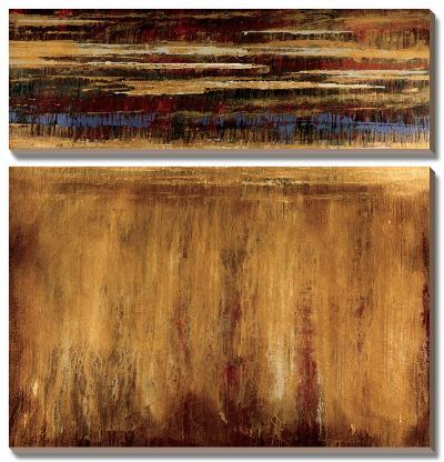 Eruption - Pompeii-Elizabeth Jardine-Canvas Art Set