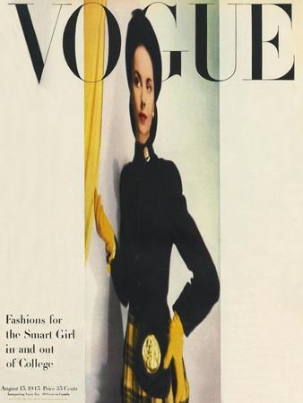 Vogue Cover - August 1945