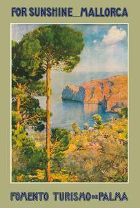 For Sunshine Majorca (Mallorca) Spain - Mediterranean Balearic Islands by Erwin Hubert