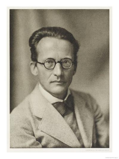Erwin Schrodinger Austrian Physicist--Giclee Print