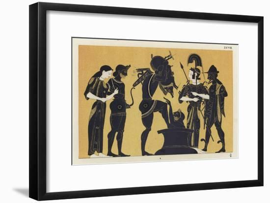 Erymanthian Boar--Framed Giclee Print