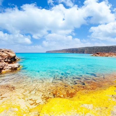 Es Calo De San Agusti in Formentera Balearic Islands-Natureworld-Photographic Print