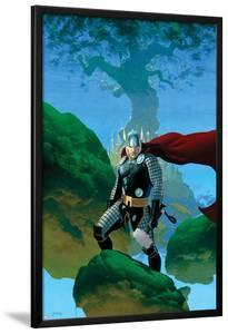 Astonishing Thor No.1 Cover: Thor Standing by Esad Ribic