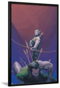House Of M No.1 Cover: Hawkeye and Wolverine by Esad Ribic