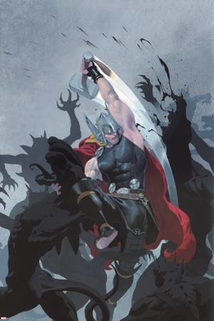 Thor: God of Thunder #3 Cover: Thor by Esad Ribic