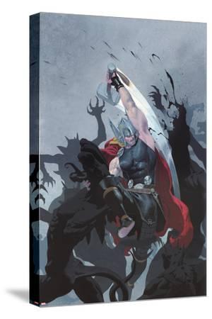 Thor: God of Thunder #3 Cover: Thor