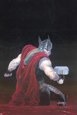 Thor: God of Thunder #7 Cover: Thor