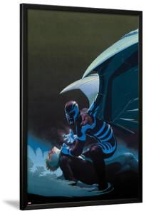 Uncanny X-Force No.10 Cover: Archangel Crouching by Esad Ribic