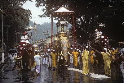 Esala Perahera Festival, Kandy, Sri Lanka--Photographic Print