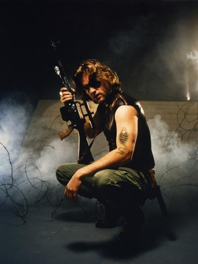 Escape from New York 1981 Directed by John Carpenter Kurt Russell--Photo