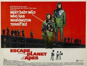 Escape From The Planet of the Apes, Kim Hunter, Roddy McDowall, 1971