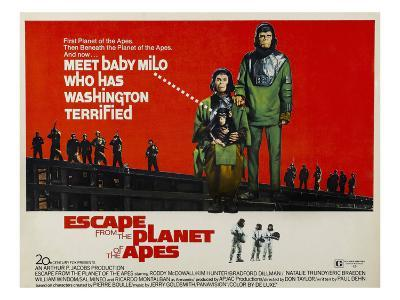Escape From The Planet of the Apes, Kim Hunter, Roddy McDowall, 1971--Photo