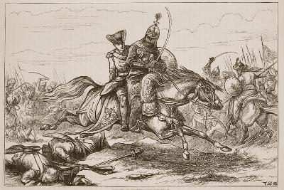 Escape of Lieutenant Goreham--Giclee Print