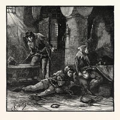 Escape of Roger Mortimer from the Tower--Giclee Print