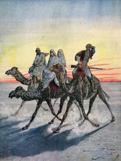 Escape of the Prisoners of the Mahdi, Khartoum, Sudan, 1892-Henri Meyer-Giclee Print